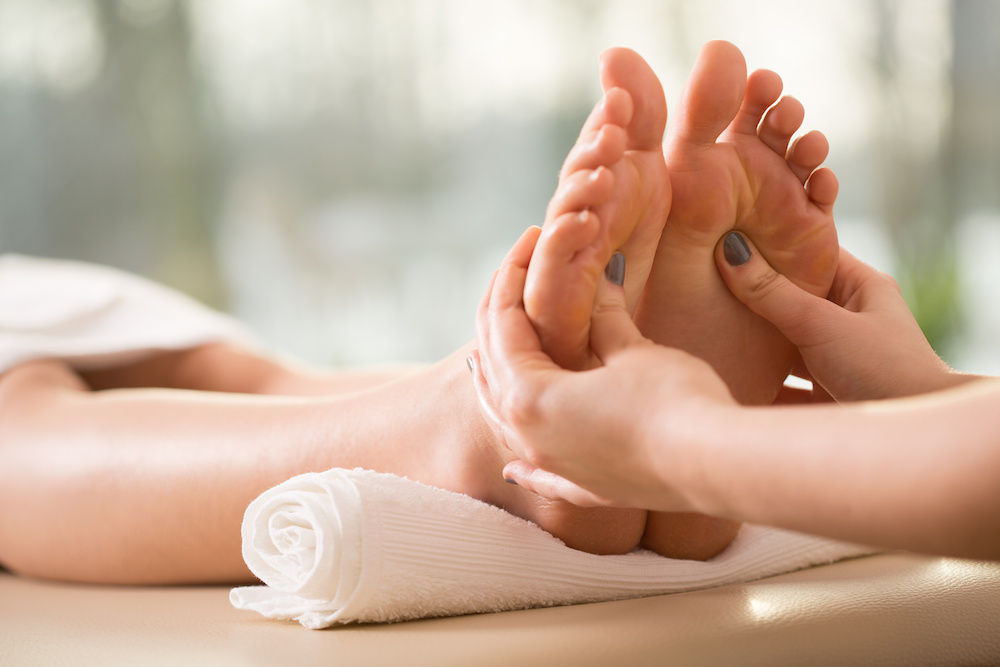 Reflexology and acupuncture treatment is available locally